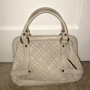 elliott lucca purse cream with gold hardware